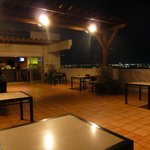 bar-terrazza all'ultimo piano