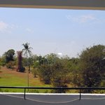  view of front area grounds from room balcony