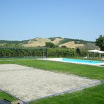 Campo beach volley e piscina