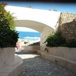  ingresso alla spiaggia