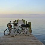 We stayed at the Yellowtail Inn on our first night while biking through the Keys.