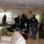 Leaving Reyton Inn to perform at the WGI World Championship