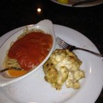  one Crabcake and side pasta