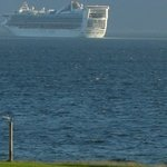  Cruise Ship Passing Westbourne rom Greenock