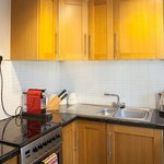  City Pad Apartment Kitchen