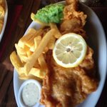 Amazing cod & chips - such light batter
