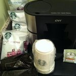 Starbucks fans will love this in room!