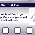 BREAKFAST LOYALTY CARD