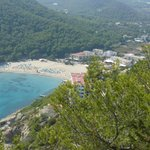 View From Mountain Of Cala Llonga