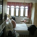 Our bedroom in the main house.
