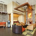 Hyatt Place North Stone Oak Lobby