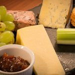 Cheese and Pate, order a supper platter