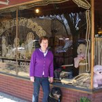  Decadent Dogs Storefront-with shop owners Roxanne and Ivy Grace