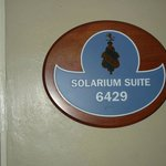  Solarium Suite Plaque