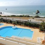  view of the pool and beach