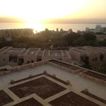  overlooking the Dead Sea from a room