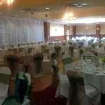  The Burrendale all set up for our wedding!