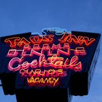 The Famous Neon Sign - The Oldest in Taos County!