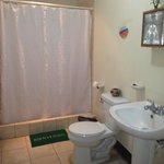 Every room has a private bathroom with shower