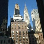  View from Room (Floor 8th, 39th Street side, corner suite)