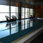  The pool in the hotel