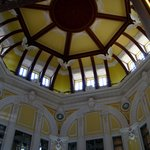  the refurbished ceiling