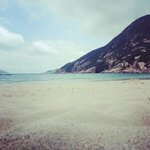 shek o beach, really nice and clean beach