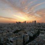 View from Room 11th floor room - Sunrise over Tel Aviv