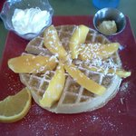  Toasted Mango Waffle
