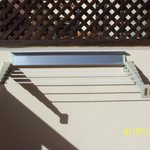  Balcony extending airer