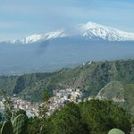  view towards Etna from the hotel