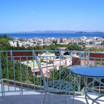  Wonderfull view from the terrace of the residence