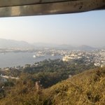 View of Udaipur from Cable car