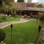  The gardens and view of the function room