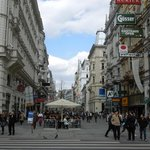  Vienna - Downtown shopping area.