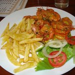 Shrimps & Chips - Tofo Tofo Restaurant