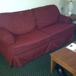 this is one tired sofa