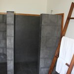 Slate shower/ bathroom....beautiful and modern!