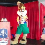 Sparky with the official FA cup