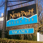Sign out front of the INN