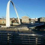 a view from Gateshead