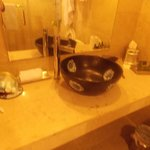 Liberty Suite Room 002 1st Bathroom Unique Sink