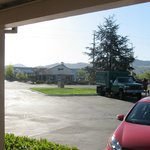 view from front of room across street (santa rosa ave) to costco center