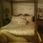 Fabulous four poster bed