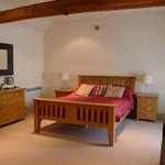  The bedroom for Bibury (all rooms are named after local villages)
