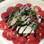 Carpaccio from local beef