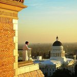  Views of the Capitol and downtown Sacramento from the Penthouse level