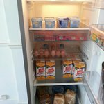 The Fridge, always well stocked