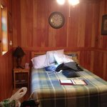 Tiny room that was so cozy!