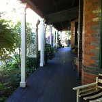  veranda of Vacy Hall